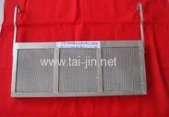 Electroplating titanium mesh anode basket