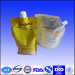 plastic stand up pouch/bag with spout doypack