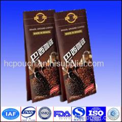 kraft coffee bags valve