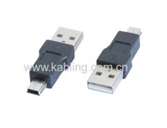 USB 2.0 Adapter AM to B Mini 5P