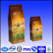 stand up natural kraft paper coffee bags/paper doypack
