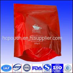 aluminum foil coffee package