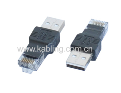 USB Adapter 2.0 A Male to RJ45