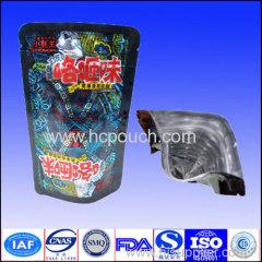 ziplock standing aluminum foil bags