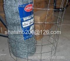 galvanized wire field fence