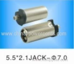 DC JACK 5521 7mm meet ROHS