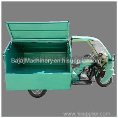 dumper garbage tricycle bajaj auto rickshaw