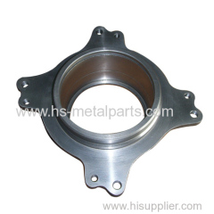 OEM cast iron flange by sanding casting