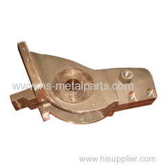 OEM brass casting mechanical part