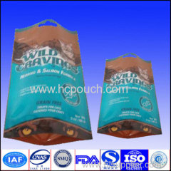 Zipper metalized stand up pouch for food packaging
