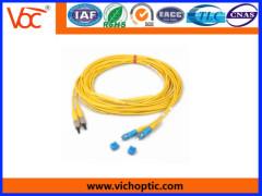 SC-FC PC singlemode optical fiber patch cord