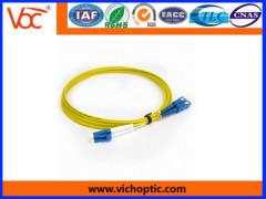 SC to LC PC singlemode indoor optical fiber patch cords
