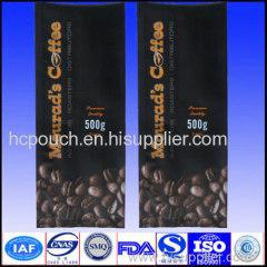 coffee bag with aroma valve