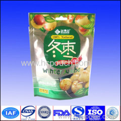 1kg plastic stand up dry fruit packaging bag