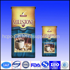 clear plastic coffee bags