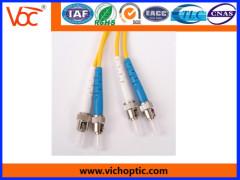 ST/PC-ST/PC SM duplex optical fiber indoor patch cord
