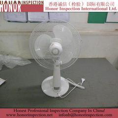 High Quality Pre Shipment Inspection Services for Desk Fan