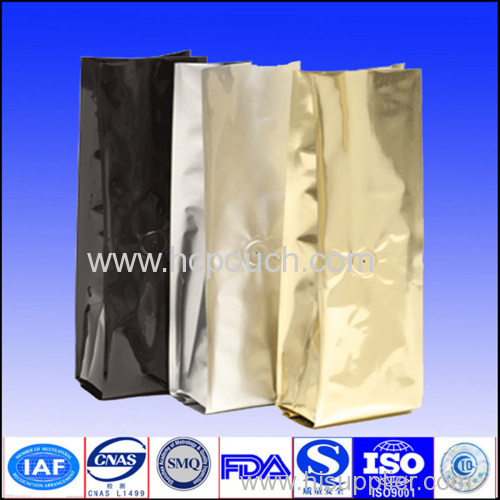 only one color stand up for food packaging bag