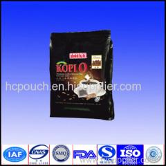 reasonable price coffee zipper bag