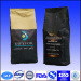 12oz Stand Up Zipper Coffee Pouch With Valve