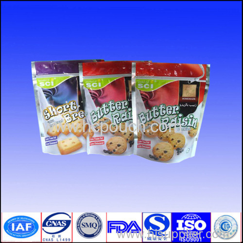 polypropylene stand up bag and pouch for food