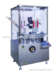 Cartoner machine for mosquito coil
