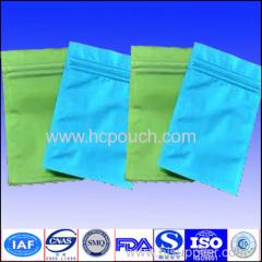 aluminum foil zip lock pouch