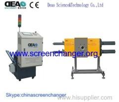 pulse back flush screen changer for compounding (master batch) extruson line