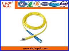 FC-ST PC simplex indoor optical fiber network patch cord