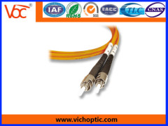 Standard ST/PC-ST/PC multimode optical fiber indoor patch cord
