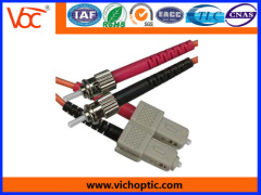 ST/PC-SC/PC multimode indoor optical fiber patch cord