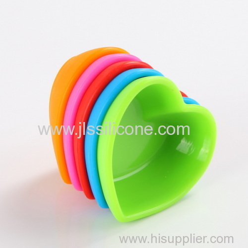 Silicone baking saucers small bowl