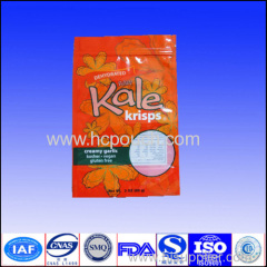 250g aluminum foil bags with clear window