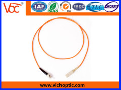 Good Stability ST-SC mm indoor simplex optical fiber patch cord