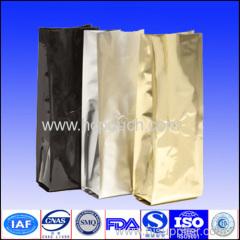 Flat bottom aluminum foil packing bag