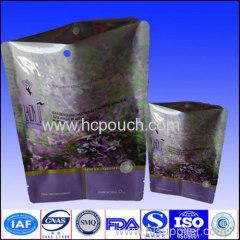 aluminum foil packing bag with handhole