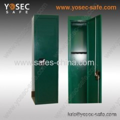 two keys lock gun safe with 5 gun racks