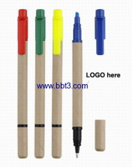 recycle barrel highlighter pens