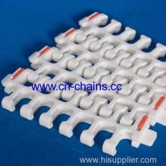 Sideflexing Modular spriral conveyor belt with TAB