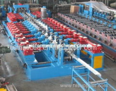 Z / C Shaped Purlin Roll Forming Machine , Bending Rolls for Mid-scale Construction