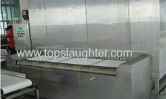 IQF Tunnel Freezer 1000 KG Per Hour for Food Processing