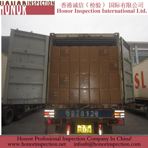 Professional Container Loading Inspection for Motorcycle Parts