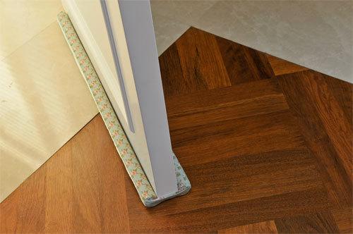 Decorative Fabric Twin Draft Stop