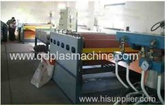PP PC PE hollow grid sheet extrusion line