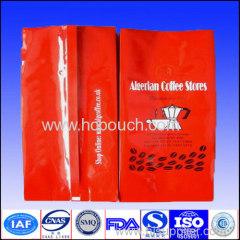 16OZ tea/coffee aluminum foil packaging bag