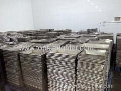Meat processing equipment stainless steel frozen meat plate