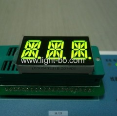 3 digit 14 segment; triple digit 14 segment led display;