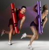 ViPR fitness functional training exercise machine