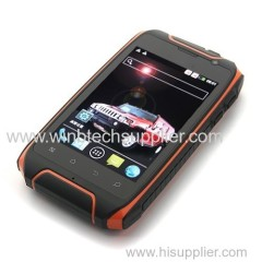 Hummer H1+ Dual Core Rug smartphone Shockproof Dustproof GPS 3.5inch 960*640 2800Mah battery Dual SIM cell phone H