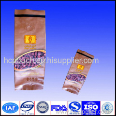 coffee bag side gusseted pouch bag